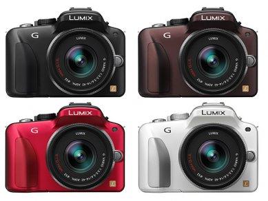 Panasonic Lumix DMC G3 modely