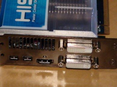 HIS Radeon HD 6970 IceQ MIX výstupy