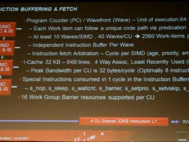 AMD Graphics Core Next 2011 - Instruction Buffering
