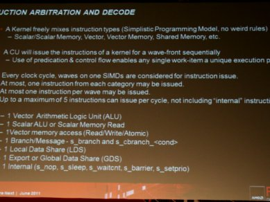 AMD Graphics Core Next 2011 - Instruction Arbitration