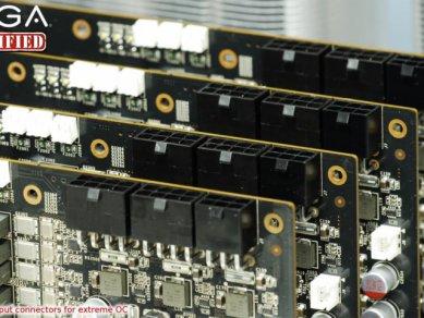 EVGA GeForce GTX 580 Classified - napájení