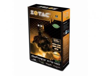 Zotac GeForce GTS 450 ECO - balení