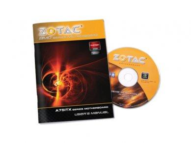 Zotac A75-ITX WiFi návod a CD