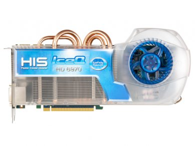 HIS 6970 IceQ Eyefinity RTS front