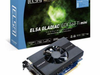ELSA Gladiac GeForce GTX 560 Ti mini - balení