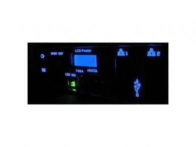 Základní deska ASUS R.O.G. Crosshair - podsvícený zadní panel s