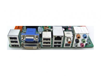 ECS H55H-I - porty