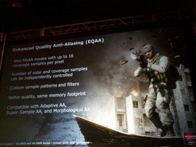 Prezentace AMD Radeonů HD 6900: Enhanced Quality Anti-aliasing (EQAA)