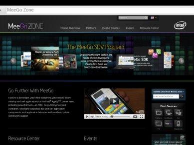 Intel Tablet User Experience - MeeGoZONE v prohlížeči
