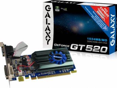 Nvidia GeForce GT 520 - Galaxy