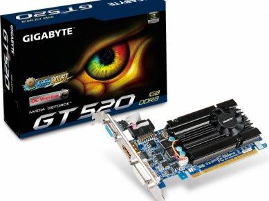 Nvidia GeForce GT 520 - Gigabyte