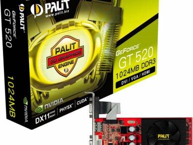 Nvidia GeForce GT 520 - Palit