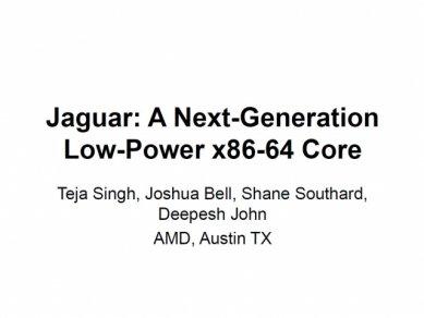 AMD Jaguar IEEE 2013 01