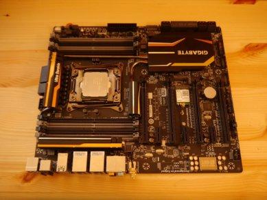 Gigabyte X 99 Intel 5930 K 61 Cpu Deska