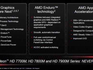 AMD Radeon HD 7000M - slide 12