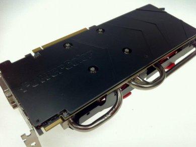 PowerColor Radeon HD 7970 Vortex II backplate 2. verze