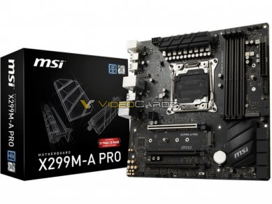 Msi X 299 M A Pro