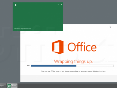 Office 2013 Preview - Streaming required features