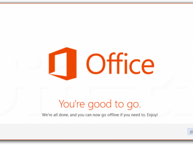 Office 2013 Preview - You′re good to go