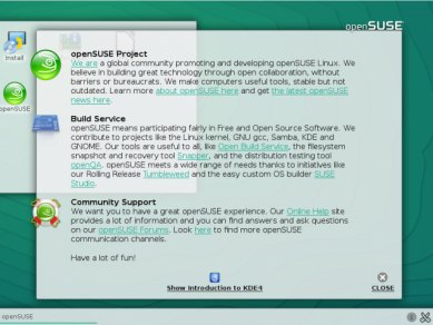 Opensuse 132 Kde Welcome 13