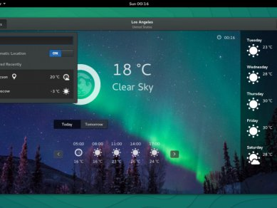 Opensuse 132 Os 1320 Gnome Weather La