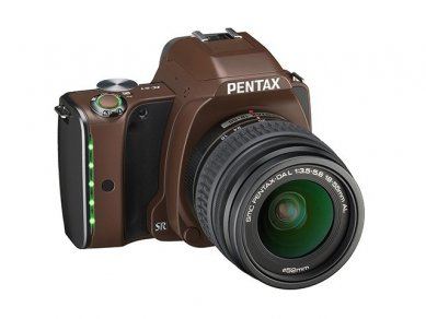 Pentax K S 1 Linen Brown
