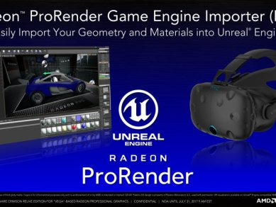Radeon Pro Software Crimson Relive For Vega 11