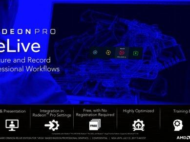 Radeon Pro Software Crimson Relive For Vega 15