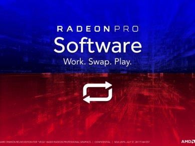 Radeon Pro Software Crimson Relive For Vega 18