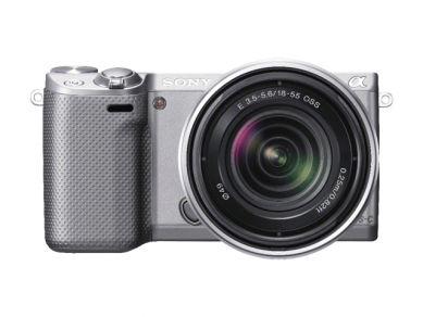 Sony NEX-5R LCD silver