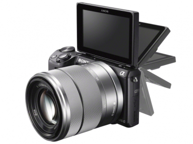 Sony NEX-5R LCD tilt