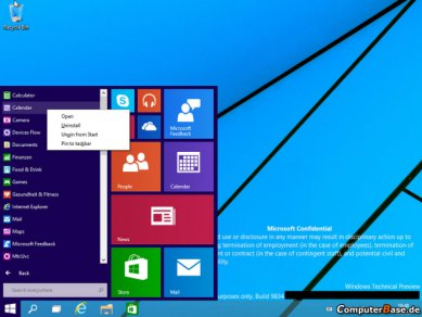 Windows 9 Dp Start 2