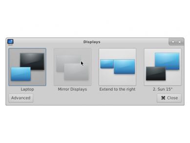 Xfce 412 Xfce 4 Display Layout