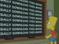 Bart Simpson - illegal download