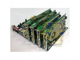 "Gigabyte GA-8N-SLI-Quad Royal se čtyřmi 7800 GTX  ""for perex"""