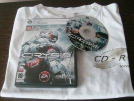 Crysis + tričko CD-R Serveru ;-)