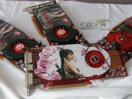Asus Radeon HD 4850 se třemi HD 3850