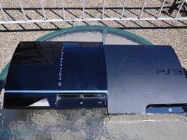 Playstation 3 Slim versus klasická