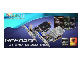 Sparkle GeForce G210, GT 220 a GT 240