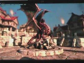 GeForce GTX 480 - Unigine Heaven (video)