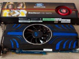 Sapphire Radeon HD 5850 TOXIC + HD 5970 OC