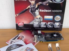 Sapphire Radeon HD 5570: obsah balení