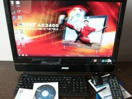 MSI Windtop AE2400: obsah balení