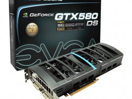 EVGA GeForce GTX 580 DS Superclocked