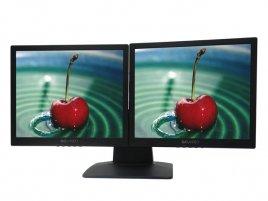 Soyo dvoudisplejový monitor