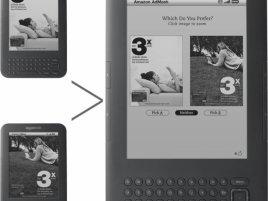 Amazon AdMash v Kindle