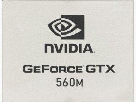Nvidia GeForce GTX 560M GPU