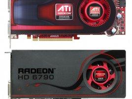 ATI Radeon HD 4890 a AMD Radeon HD 6790