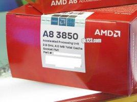 AMD Llano A8 3850 retail balení