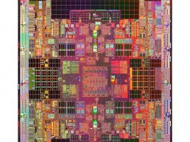 Jádro procesoru Tukwila (Intel Itanium, 65nm, 30 MB cache)